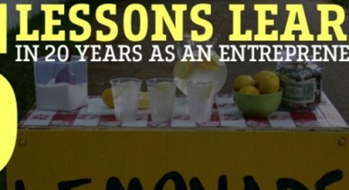 5 Lessons Learned in 20 Years As An Entrepreneur