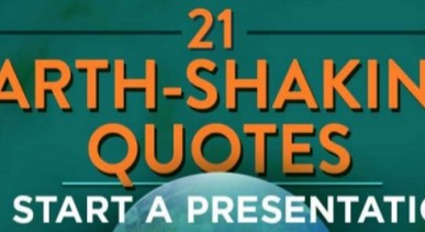21 Good Quotes to Start a Presentation With