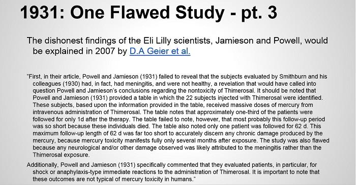 vac autism pt 4 1 flwed study pt 3