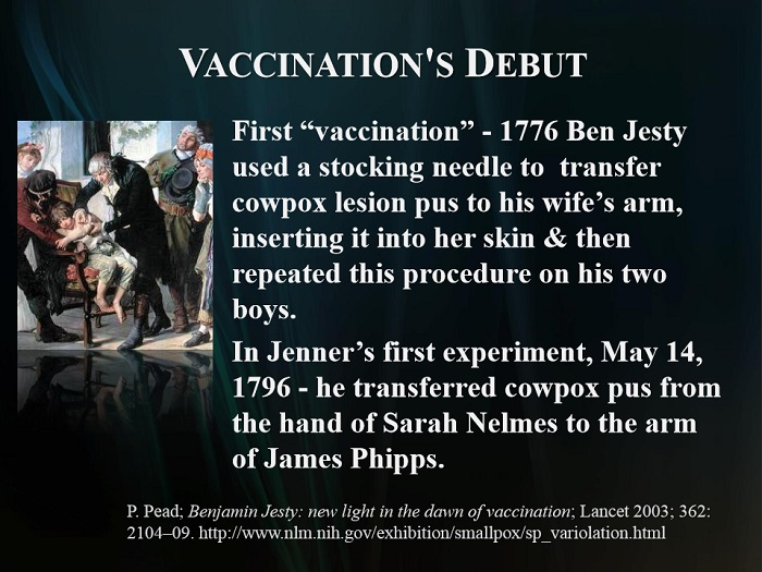 the theory of vaccination and the concept behind it Edward jenner was born in berkeley, gloucestershire on 17 may 1749, the son of the local vicar at the age of 14, he was apprenticed to a local surgeon and then trained in london in 1772, he returned to berkeley and spent most the rest of his career as a doctor in his native town in 1796, he.