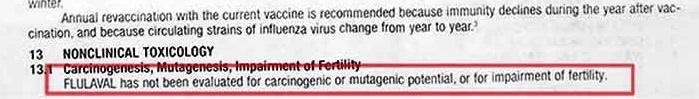 vaccine flulaval-influenza 2